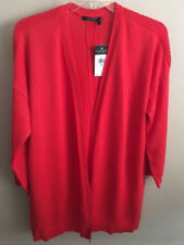 NWT~RALPH LAUREN PLUS~RED OPEN FRONT CARDIGAN SWEATER~SIZE 2X~NEW~$125