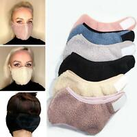 Warm Face Mask Cover Thermal Fleece Fur Unisex Outdoor Buff Snood Ear Warmer UK