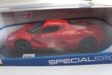 Ferrari LaFerrari (Red) Maisto 1:18 Scale Special Edition Diecast Model Car -