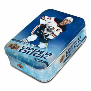 2020 2021 Upper Deck Hockey Series 1 Collectible Tin EXCLUSIVE OPC ROOKIES 20 21