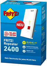 AVM FRITZ! Repeater 2400 Dualband Repeater AC/N WLAN Mesh 5 GHz 2333 Mbit/s