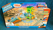 THOMAS & FRIENDS TRACKMASTER FIERY RESCUE SET MOTORIZED TRAIN REAL STEAM NEW BOX