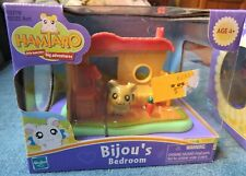 Hamtaro Bijou'S Bedroom By Hasbro Little Hamsters Big Adventures Nib