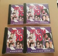 VARIOUS ARTISTS * HITS OF THE 70s * 4 X CD SET 100 TRACKS EXCELLENT ( TRING )