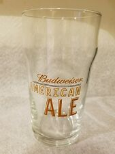 BUDWEISER American Ale 16 oz. Nonic Style Beer Pint Glass