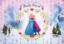 Fototapete Kindertapete FROZEN FAMILY FOREVER 368x254 Disney Eiskönigin Komar
