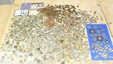 More details for large job lot of 8kg uk & foreign unsorted coins & various eras-232