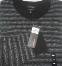 Marc Anthony Mens Size XXL Sweater Slim Fit Long Sleeve Black NWT $65