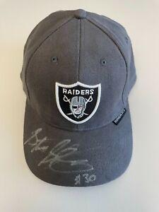 Stuart Schweigert NFL Oakland Raiders #30 Safety Autographed Gameday Hat