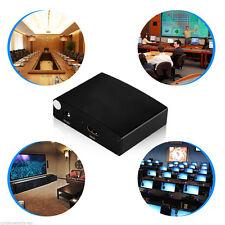 Schwarz HDMI zu RGB Component (YPbPr) Video+R / L Audio Adapter Konverter HD TV