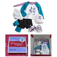 American Girl Star Player Volleyball Outfit NEW IN BOX purple blue