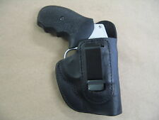 Kimber K6S Revolver Leather IWB In The Waistband Concealed Carry Holster BLACK R