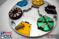 11 Magnetic Plates Htc Ezchange Sase Concrete Polishing Grinding Husqvarna