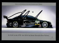 DTM Autogrammkarte Original Signiert Motorsport + A 197606