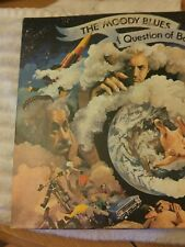 THE MOODY BLUES Question of Balance Original LP