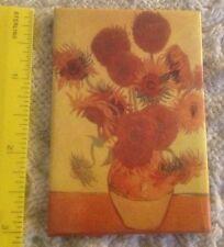 Van Gogh, Sunflowers REFRIGERATOR MAGNET, 1888 Vase W/ Fifteen Sunflowers
