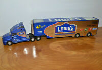 """VINTAGE DIECAST SEMI TRUCK LOWES HOME IMPROVEMENT 13.5"""" NASCAR RACING CHAMPIONS"""