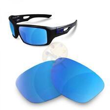 Fit&See Lentes de Recambio Polarizada para Oakley Eyepatch 2 ( Ice Blue )