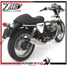 Terminali di Scarico Racing Zard per Moto Guzzi V7 Cafè Racer / Classic 2009 >
