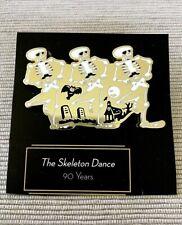 Disney The Skeleton Dance 90 Years 2019 Original D23 Gold Member Pin