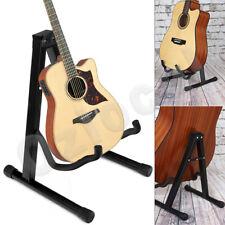 Portable Guitar Stand Folding Rack Floor Rack Electric Acoustic Bass Gig Holder
