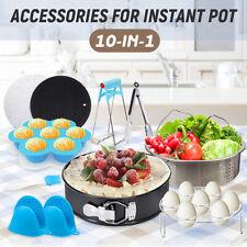 60Pcs Instant Pot Accessories 6 - 8 QT Non-stick Springform Pan Steamer Basket