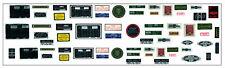 Nuevo Motor Bay Decal Set para 1/8 Escala Revell/Monogram e tipo Jaguar Modelo Kit