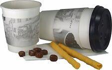 Thermosleeves, Iso-Bechermanschetten größenverstellbar, Coffee-Bistro, 200 Stück