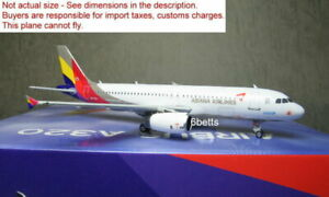 Phoenix 1/400 Asiana A320 HL7737 #11684 Diecast metal plane @