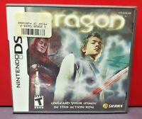 Eragon - Nintendo DS DS Lite 3DS 2DS Game Complete + Tested
