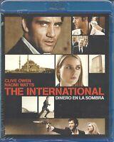 BLU-RAY THE INTERNATIONAL  - Dinero en la Sombra-                     PRECINTADO