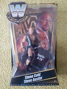 WWE Legends Series 1 Stone Cold Steve Austin Mattel WWF Wrestling Rare UK Seller