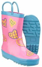 Wellington Boots Rubber Slip - on Shoes for Boys