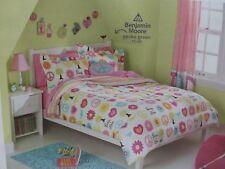 7 pc Circo Peace Girl Collection Full Comforter, Shams & Sheet Bedding Set NEW