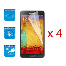 4 x Screen Cover Guard Shield Film Foil For Samsung Galaxy Note 3 Protector