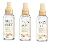3 x Avon Skin So Soft Enhance & Glow Airbrush Spray - 150ml -  New - SALE !!!