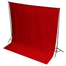 Photography Background/Backdrop maroon Color 8x12Thick material