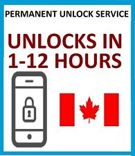 UNLOCK SERVICE FOR iPHONE 7+ 7 6S+ 6S 6+ 6 5S 5SE 5 4 FOR BELL VIRGIN CANADA
