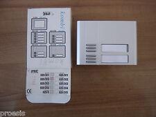 URMET DOMUS 825/202 Kombi modulo posto esterno 2 pulsanti chiamate tastiera