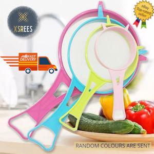 4 x Multi Purpose Plastic Mesh Tea Scoop Strainer Food Sieve Colander Kitchen