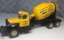 Mack Bulldog Concrete Truck 1/34 Pressed Metal Toy First Gear 1997