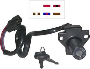 735925 Ignition Switch for Honda VF400/500/750/1000, CBX550... (5 wires) 591638H