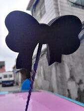 Cute Black Bowknot Antenna Balls Car Aerial Ball Antenna Topper &Decor Ball 2017