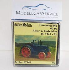 Saller Modelle (1/87) 87744: Hanomag R 40 Ackerbulldog, blau, ohne Dach