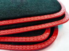 Fußmatten Audi A5 Sportback S-Line Original Velours Bandeinfassung Rot Matten