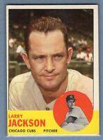 1963 Topps #95 Larry Jackson VG-EX Set Break