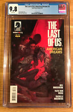 The Last of Us: American Dreams #3, (1st print), CGC 9.8, graded NM/MT