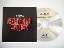 LEEROY : CHATEAU ROUGE - PERSONNE (avec FEFE) [ CD PROMO ] ~ PORT GRATUIT !