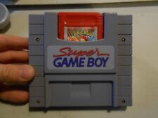 Super Game Boy Adapter for SNES & Pokemon Red Nintendo Gameboy Color GBC LOT