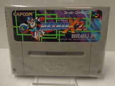 SNES juego-Rockman x2/Mega Man x2 (jap import) (módulo)